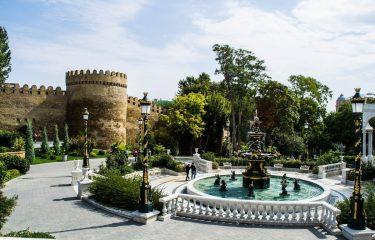 Баку стена Ичери Шехер